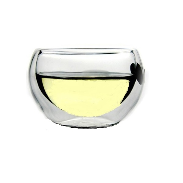 Sake-Set 5 tlg. Glas-Tokkuri mit Eisfach + 4 Doppelwand Guinomi 3