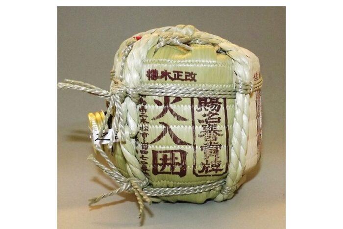 Sake Mini-Barrel Ninki Ginjo 300 ml 1