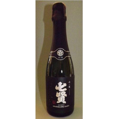 Shichiken Sparkling Sake Dry 360 ml 12