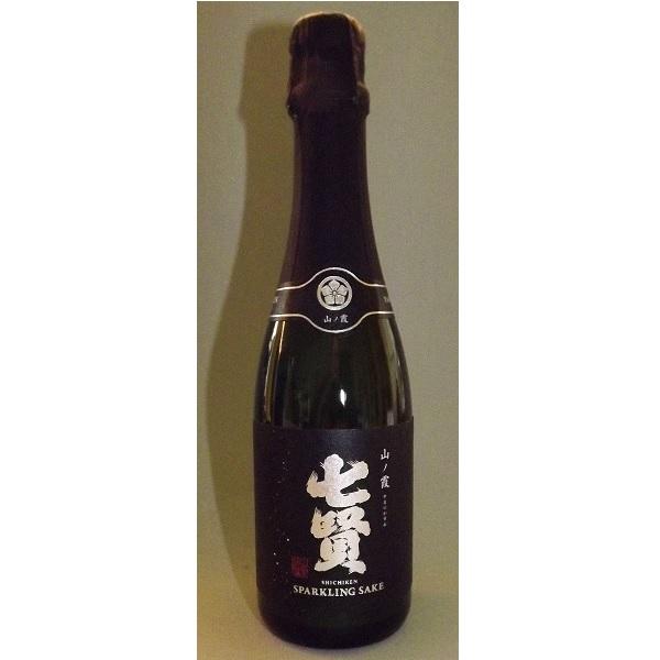 Shichiken Sparkling Sake Dry 360 ml 1