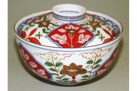 Keramik Sake-Test-Set weiß-blau 4 tlg. 9
