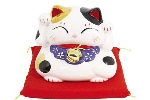 Maneki-Neko shiro 6 cm 7