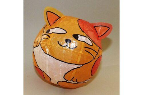 """Magischer"" Papierball Katze orange 4"