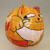 """Magischer"" Papierball Katze orange 3"