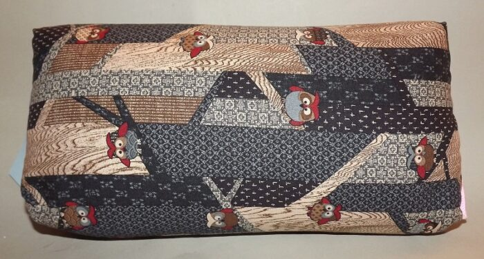 Makura Traditionelles Kopfkissen 32 cm Fukoru darkblue 1