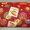 Makura Traditionelles Kopfkissen 32 cm Yasai darkred 3