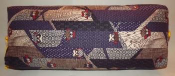 Makura Traditionelles Kopfkissen 32 cm Fukoru darkblue 9