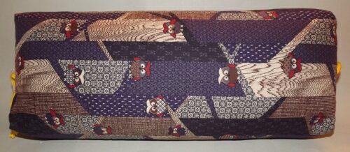 Makura Traditionelles Kopfkissen 40 cm Fukoru darkblue 12