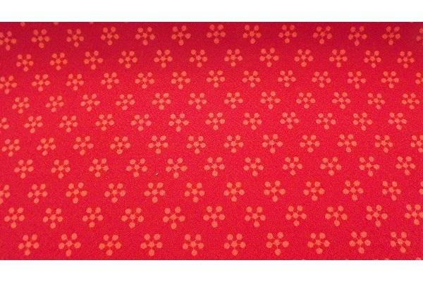 Furoshiki Rikyubai red-orange 45 cm 1