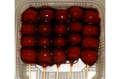 Shoyu Mitarashi Dango 5 Spieße = 300g Minato Seika 7