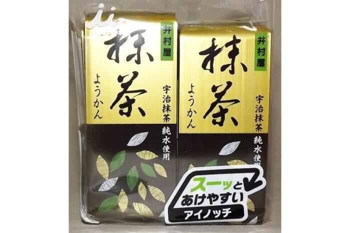 Mini Maccha-Yokan 4 Stück = 232g Imuraya 1