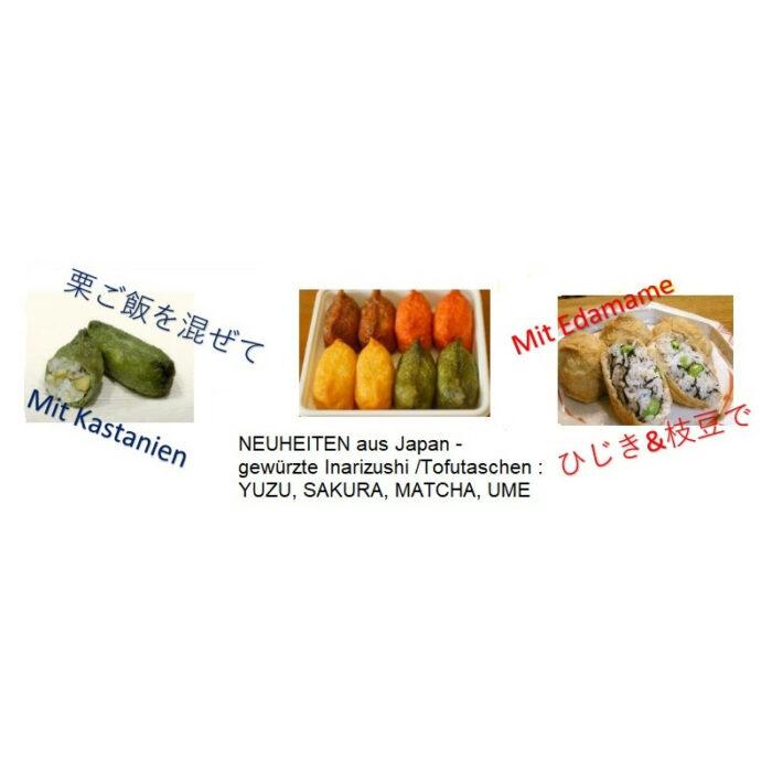 Inarizushi Matcha - Restaurantgröße 60 Stück 1