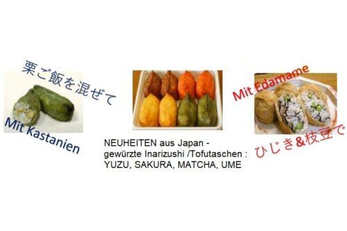 Inarizushi Ume mariniert - Restaurantgröße 60 Stück 1