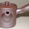 Kyusu-Teekanne Keramik aubergine-metallic 150 ml 3