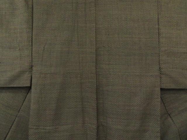Kimono Kanoko Dot - Baumwolle antik dunkelbraun 3