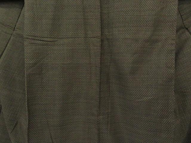 Kimono Kanoko Dot - Baumwolle antik dunkelbraun 4