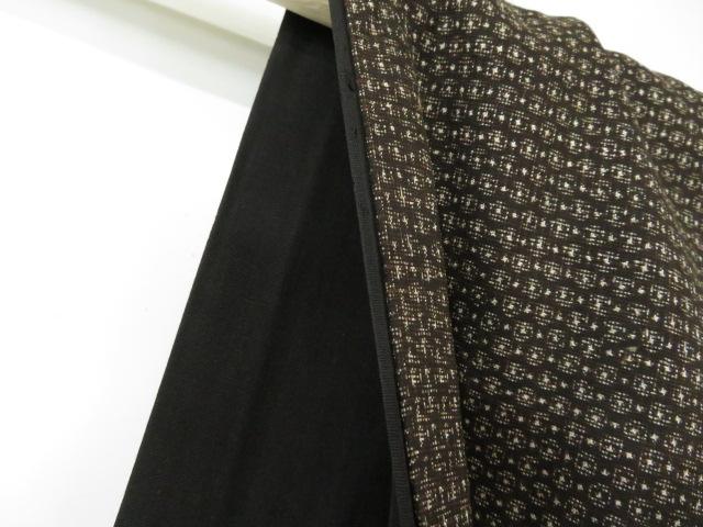 Kimono Kanoko Dot - Baumwolle antik dunkelbraun 6
