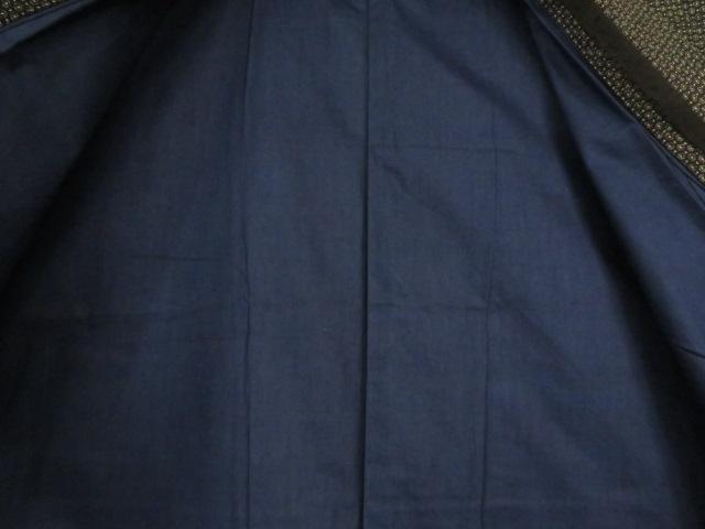 Kimono Kanoko Dot - Baumwolle antik dunkelbraun 7