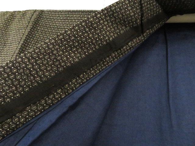 Kimono Kanoko Dot - Baumwolle antik dunkelbraun 9
