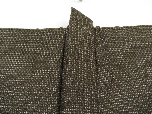 Kimono Kanoko Dot - Baumwolle antik dunkelbraun 10
