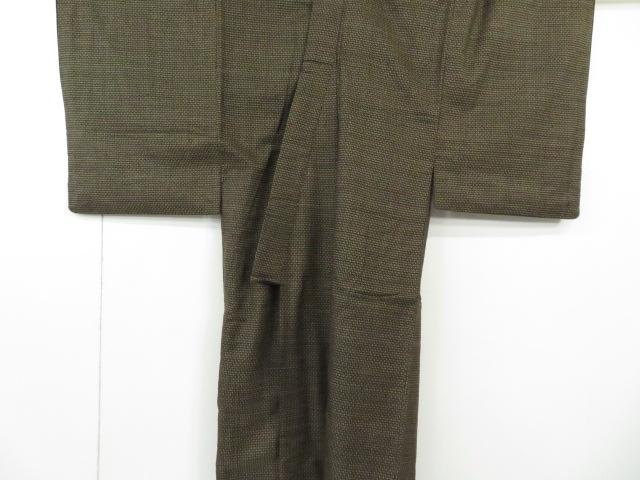 Kimono Kanoko Dot - Baumwolle antik dunkelbraun 1