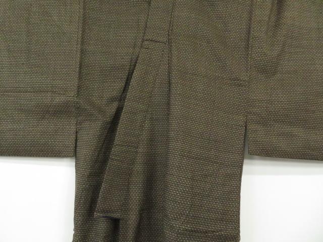 Kimono Kanoko Dot - Baumwolle antik dunkelbraun 11