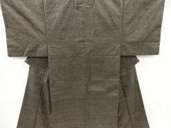 Kimono Set mit Haori Shiborikaro II - Seide antik schwarz-dunkelblau 24