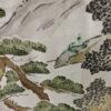 Kimono Set mit Haori Shiborikaro - Seide antik braun 14