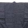 Kimono Kanoko Kreuzkaro - Baumwolle antik tiefschwarz 2