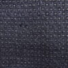 Kimono Kanoko Kreuzkaro - Baumwolle antik tiefschwarz 7