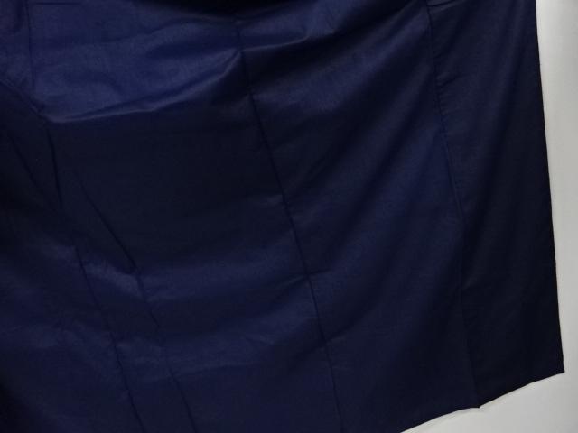 Kimono Kanoko Kreuzkaro - Baumwolle antik tiefschwarz 8