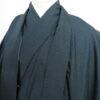 Kimono Set mit Haori Shiborikaro II - Seide antik schwarz 3