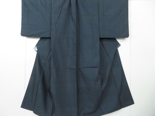 Kimono Set mit Haori Shiborikaro II - Seide antik schwarz 1
