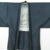 Kimono Set mit Haori Shiborikaro II - Seide antik schwarz 17