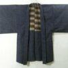 Haori Bizu Kuro - Baumwolle antik schwarz 2