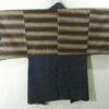 Haori Bizu Kuro - Baumwolle antik schwarz 5
