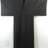 Kimono Set mit Haori Chic Tsumugi - Seide antik dunkelbraun 2