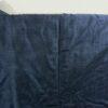Kimono Set mit Haori Oshima Seide antik nachtblau 4