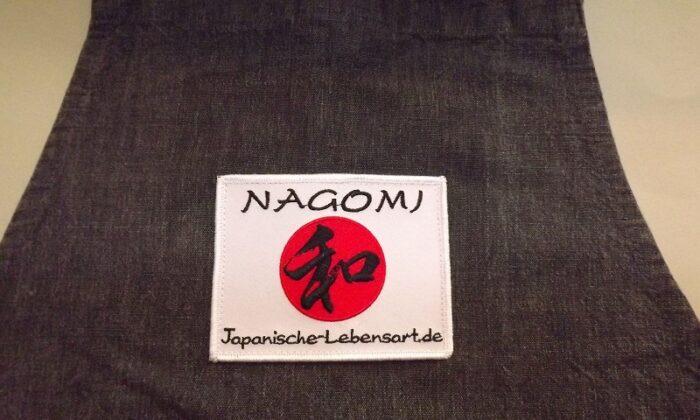 NAGOMI Grill-/Koch-Schürze mit Logo 3
