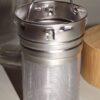 Doppelwand-Glas-Teeflasche mit Bambusdeckel 500ml 6