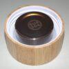 Doppelwand-Glas-Teeflasche mit Bambusdeckel 500ml 3