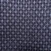 Kimono Set mit Haori Handgewebt - Seide antik anthrazit - Kreuzkaro 6