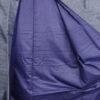 Kimono Set mit Haori Handgewebt - Seide antik anthrazit - Kreuzkaro 7