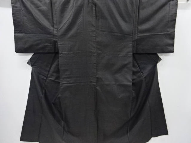 Kimono Set mit Haori Shiborikaro - Seide antik dunkelbraun 1