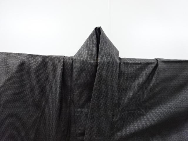 Kimono Set mit Haori Shiborikaro - Seide antik dunkelbraun 8