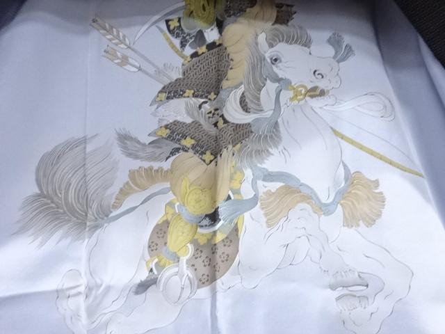 Kimono Set mit Haori Shiborikaro - Seide antik dunkelbraun 10