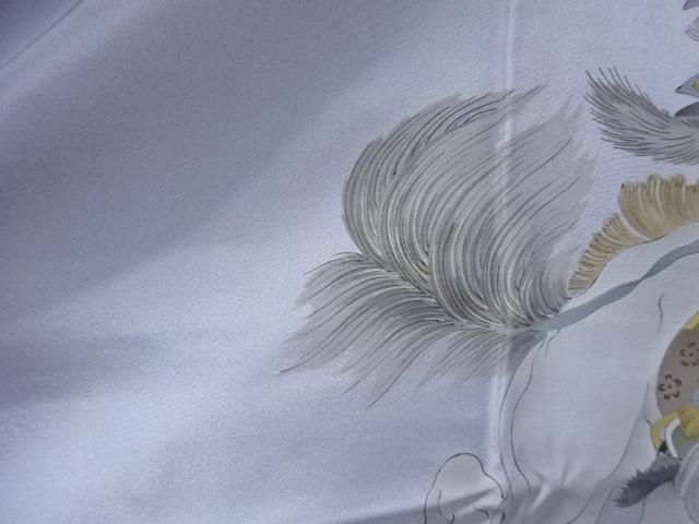 Kimono Set mit Haori Shiborikaro - Seide antik dunkelbraun 12