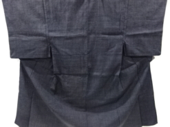 Kimono Kanoko Karo - Baumwolle antik schwarz 24