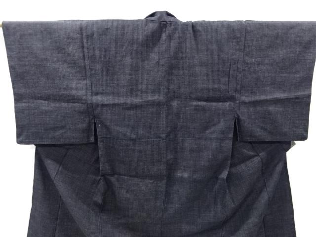 Kimono Kanoko Karo - Baumwolle antik schwarz 2