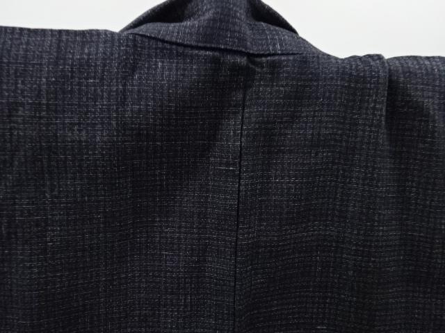 Kimono Kanoko Karo - Baumwolle antik schwarz 4
